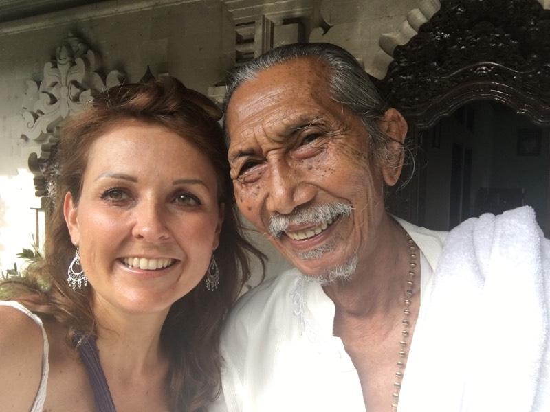 Tjokorda Gde Rai ist der Guru meiner Yogalehrerin Linda Grodin. Er ist ein direkter Nachfahre der königlichen Familie von Ubud.